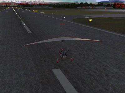 Van Ferit Melen Airport 2010 Scenery.