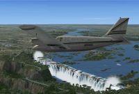 Victoria Falls Scenery.