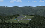 Screenshot of Virginia Mountains Airport Scenery.