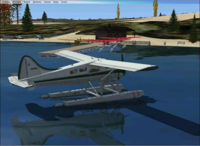 Washington Hansville Sea Planes Scenery.