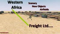 West Africa Freight Ltd. Scenery.