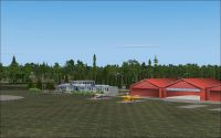 Screenshot of Wloclawek Kruszyn Airport Scenery.