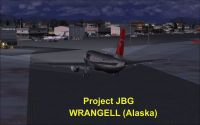 Screenshot of Wrangell Airport Scenery.