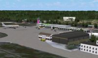 Screenshot of Zanzibar Airport Scenery.