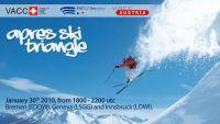 The poster artwork for Apres Ski Triangle.