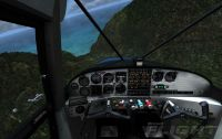 Maule Cockpit in Microsoft Flight.