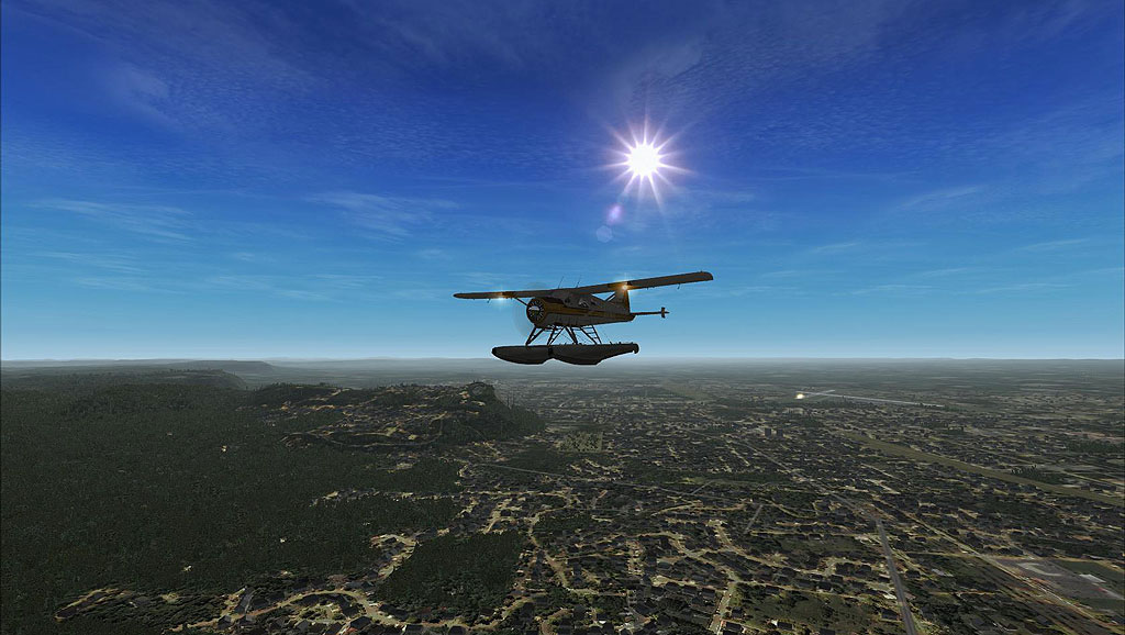 VFR Scenery for FSX Covering Canada Released by openVFR