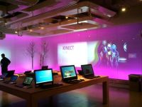 Part of the Microsoft Visitors Center.