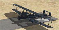 Screenshot of 1917 Zepplin Staaken R.VI on runway.