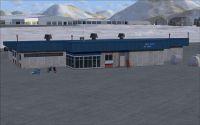 Screenshot of Adak Airport Alaska Scenery.