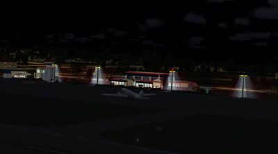 Screenshot of Anguilla Scenery at night.