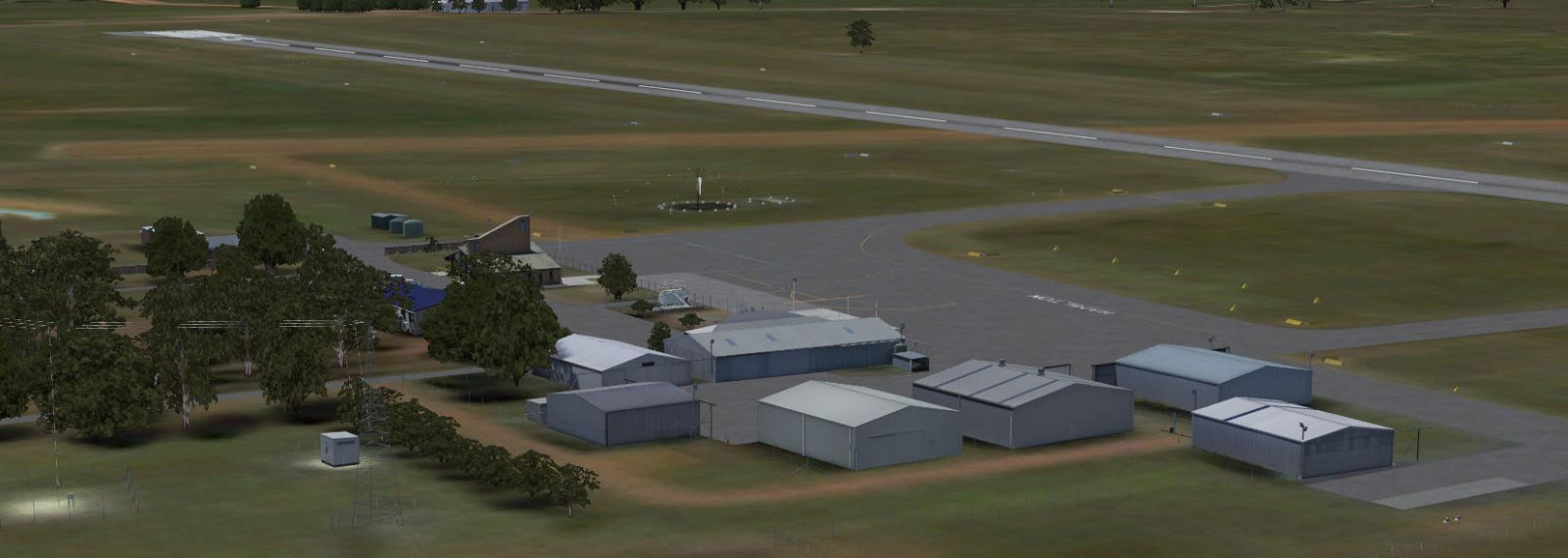 Ants Aussie Airports 13 Yhml Hamilton Scenery For Fsx