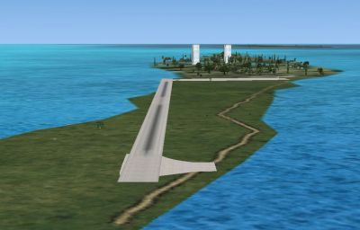 Screenshot of Belize Airports Scenery.