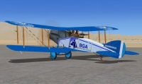 Screenshot of Bluegrass Airlines Bristol F2B.