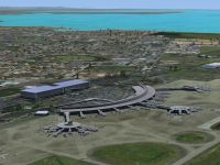 Screenshot of Brisbane International Airport Scenery.