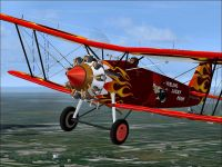 Screenshot of Bristol Bulldog IIA in flight.
