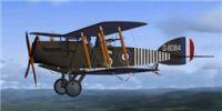 Screenshot of Bristol Fighter BF2B in flight.