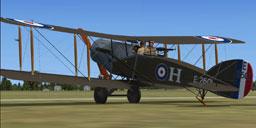 Screenshot of Bristol Fighter F.2B Mk.1 (E2601).