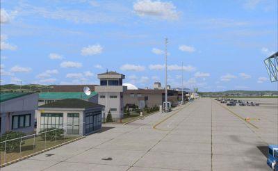 Screenshot of Bursa Yenisehir Airport Scenery.