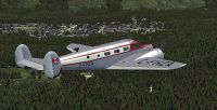Screenshot of Canadian Beechcraft D18S/SNB in the air.