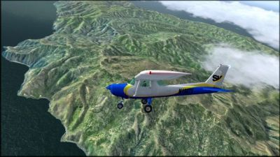 Screenshot of Catalina Island Scenery.