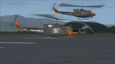 Screenshot of Cengiz Topel Naval Air Station Scenery.