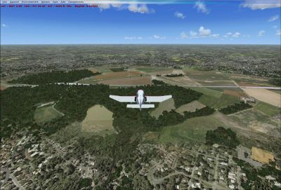 Screenshot of Chateau Thierry Scenery.