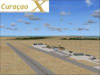 Screenshot of Curacao Airport Scenery.