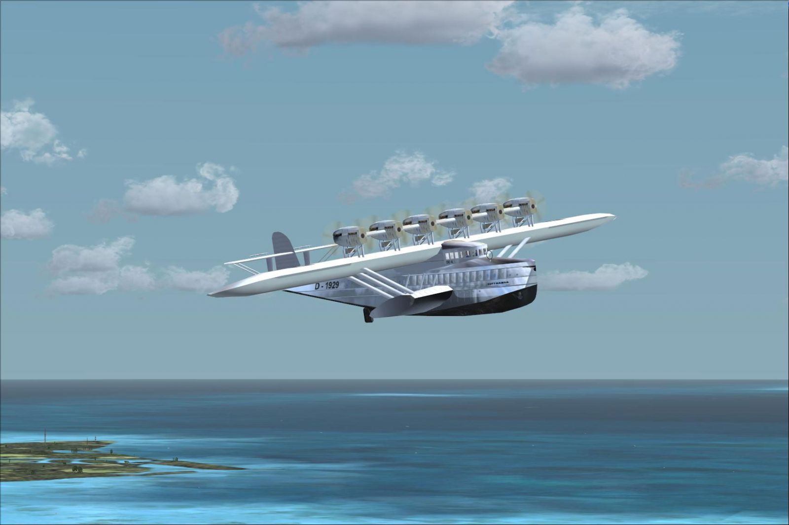 plane flying with Fsx Dornier Do X on Dumbo  1941 as well 2011 also Elon Musk Announces Daring Spacex Dragon Flight Beyond The Moon With 2 Private Astronauts In 2018 together with 3311704940 also 70800 New Release 1 200 If200 Jet X B747 400 Qantas Red.