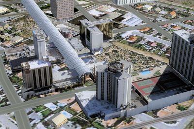 Screenshot of Downtown Las Vegas X Scenery.