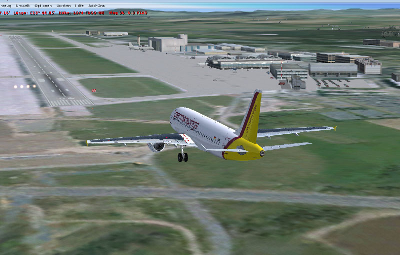 Dresden Aierport Scenery for FSX