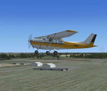 Screenshot of Dunnellon/Marion County Airport Scenery.