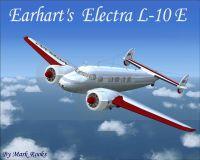 Screenshot of Earhart's Electra L-10 E in flight.