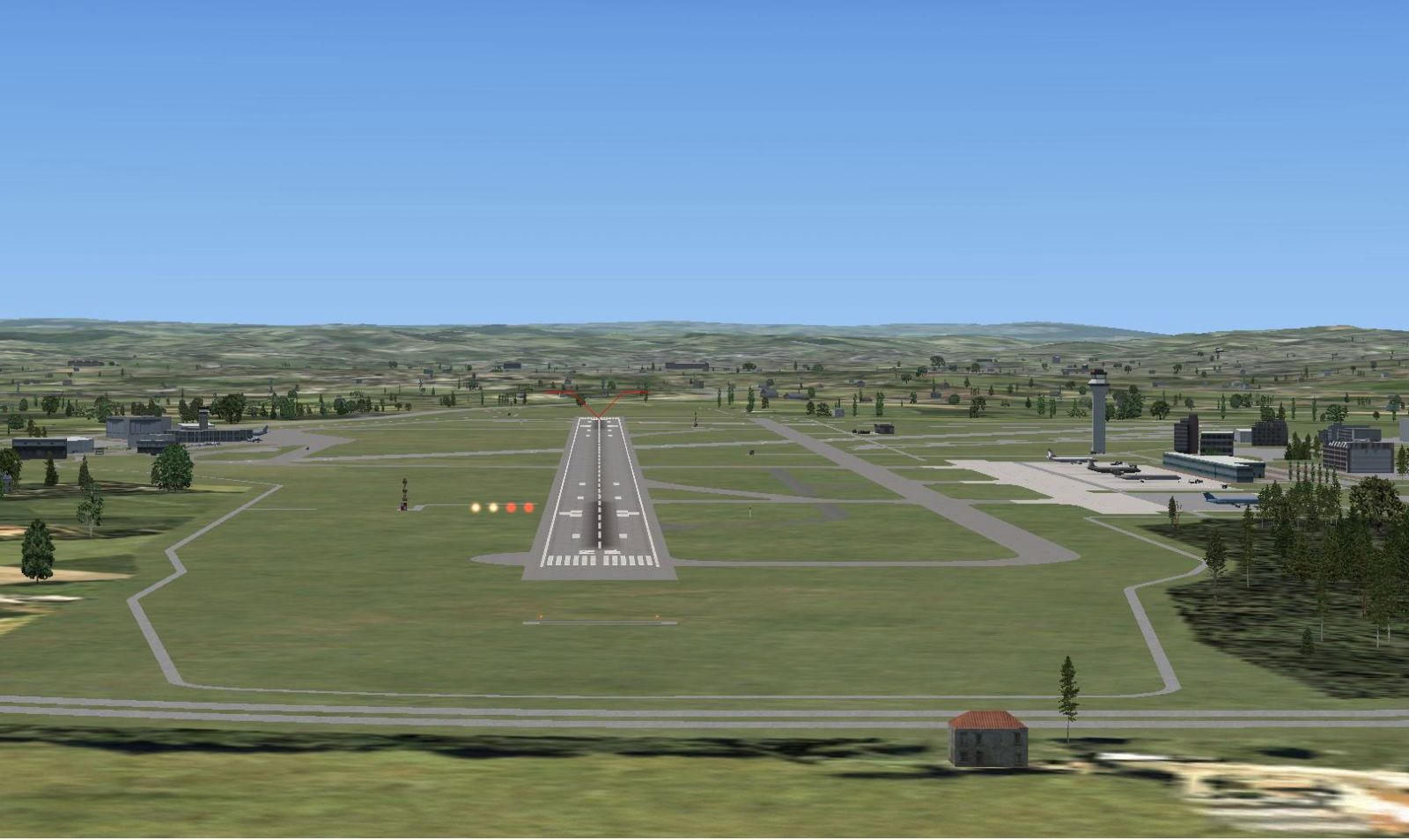 Exeter Airport Uk Expansion Scenery For Fsx