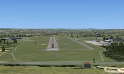 Screenshot of Exeter Airport.
