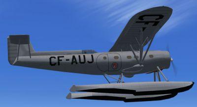 Screenshot of Fairchild Super 71 in the air.