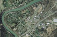 Aerial shot of Fairmont Airport Scenery.