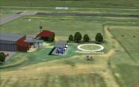 Screenshot of Ficksburg Airport Scenery.