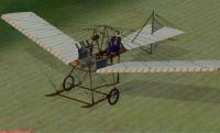 Screenshot of Fokker Spider on the ground.