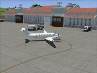 Screenshot of Formosa X RCFG Nangan Airport scenery.