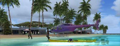 Screenshot of Fowl Cay Scenery.