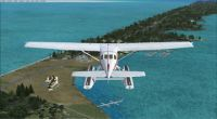 Screenshot flying over Fulton Seaplane Base.