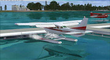 Screenshot of Fulton Seaplane Base.