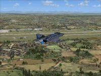 Screenshot of Furstenfeldbruck Air Base Scenery.