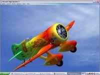 Screenshot of Gee Bee Model Z Supersports in flight.