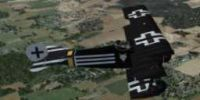 Screenshot of Gennadich DR1 in flight.