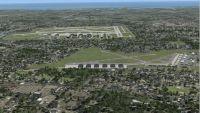 Screenshot of 'Cradle Of Aviation' scenery.
