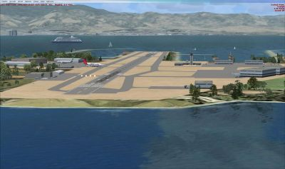 Screenshot of Gibraltar Scenery.