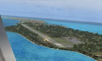 Screenshot of Governors Harbour Airport.