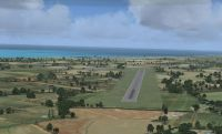 Screenshot of Grand Bahama Auxiliary Airfield Scenery.